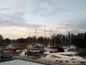 Miri Marina at Sunset