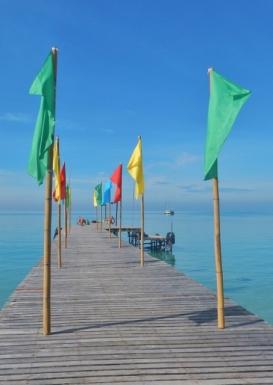 Survivor Island Resort Jetty
