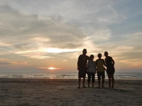 Piasau Beach Sunset