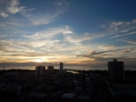 Sunset Over Miri from the Sky Garden