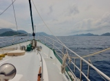 Approaching Natuna in Indonesia