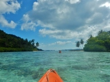 Kayaking at Pulau Pejaul