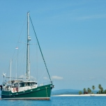 Moken Anchored at Pulau Mandariau