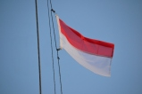 Moken's Indonesian Courtesy Flag