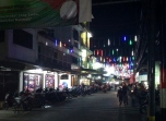 Tarempah Main Street at Night