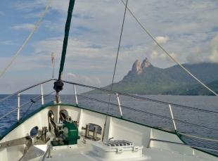 Approaching Tioman