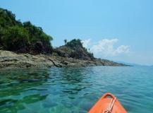 Kayaking at Pulau Sibu